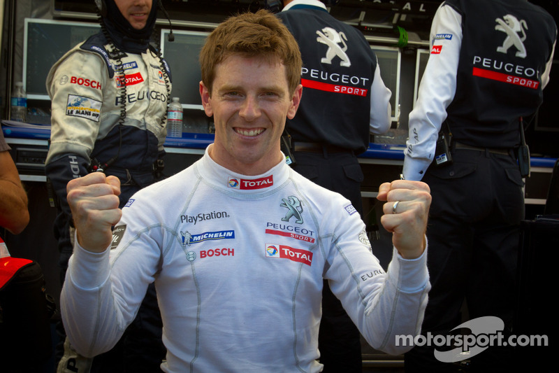 Peugeot very pleased to earn Petit Le Mans pole