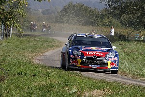 Sebastien Ogier and Citroen celebrate Rallye de France victory