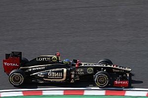 Formula 1 Lotus Renault Japanese GP - Suzuka Friday practice report