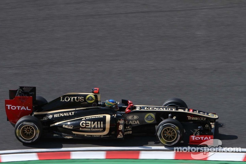 Lotus Renault Japanese GP - Suzuka Friday practice report