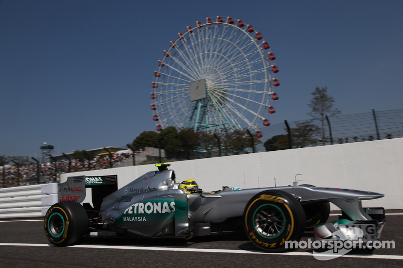 Mercedes Japanese GP - Suzuka qualifying report