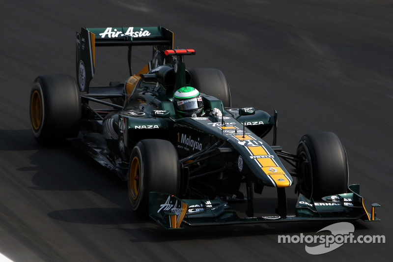 Team Lotus Korean GP - Yeongam Friday practice report