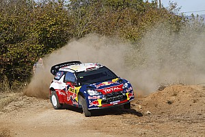 WRC Loeb leads Rally de España after mixed day for rivals
