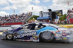 NHRA Allen Johnson Las Vegas Friday report