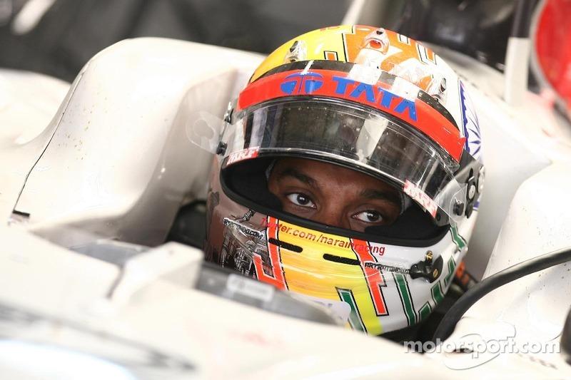 HRT Indian GP race report