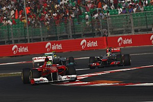 Ferrari Indian GP race report