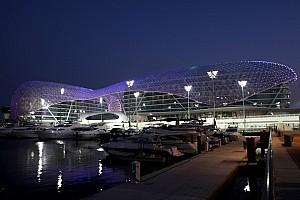 Formula 1 Formula One races into the sunset of Abu Dhabi's Yas Marina circuit