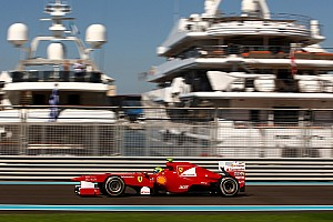 Ferrari Abu Dhabi GP Friday practice report