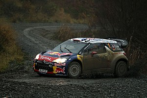 WRC Citroen's Loeb, Elena wrap up title in Wales Rally leg 2