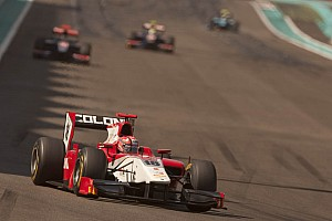 GP2 Scuderia Coloni Abu Dhabi race 1 report