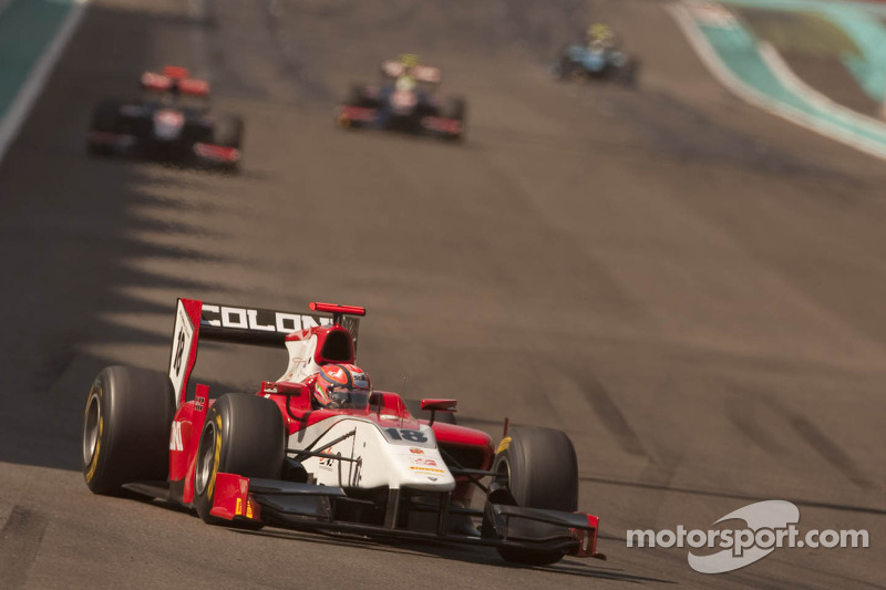 Scuderia Coloni Abu Dhabi race 1 report