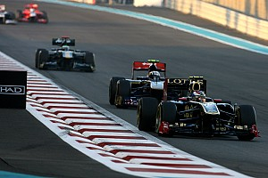 Lotus Renault Abu Dhabi GP race report