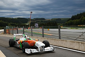 Hopeful Hulkenberg returns to scene of maiden pole
