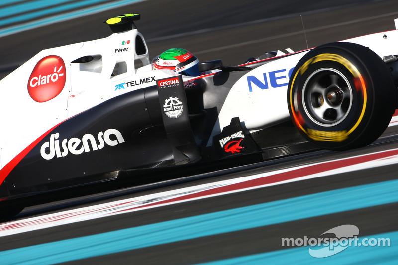 Sauber Brazilian GP Friday practice report
