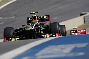 Formula 1 Lotus Renault Q&A with Romain Grosjean about the Brazilian GP