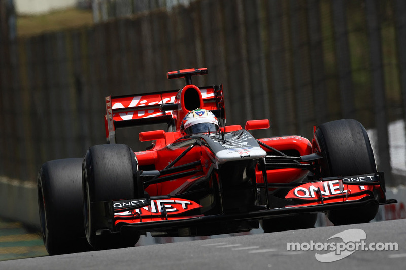 Marussia Virgin Brazilian GP qualifying report