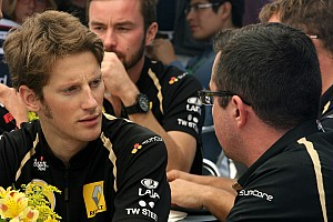 Lotus confirms Grosjean as Raikkonen's teammate