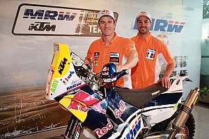 Dakar MRW KTM team ready for the start