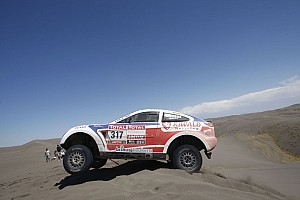 Dakar Riwald Team stage 2 report
