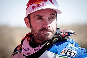 Francisco López retires from the Dakar