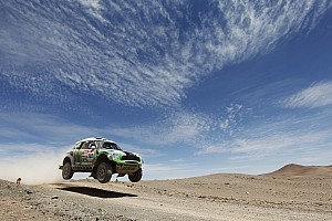 Dakar Team X-raid stage 8 report