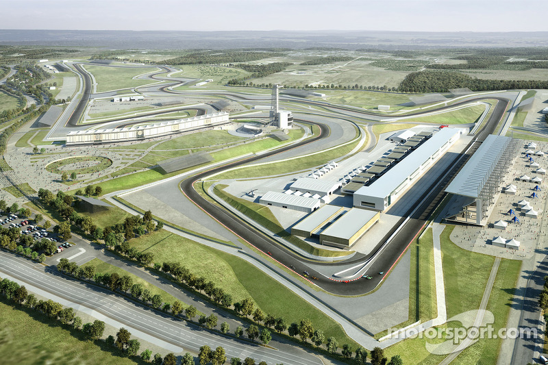 Work racing ahead at 2012 US GP site