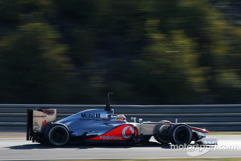 McLaren Jerez test day 4 report