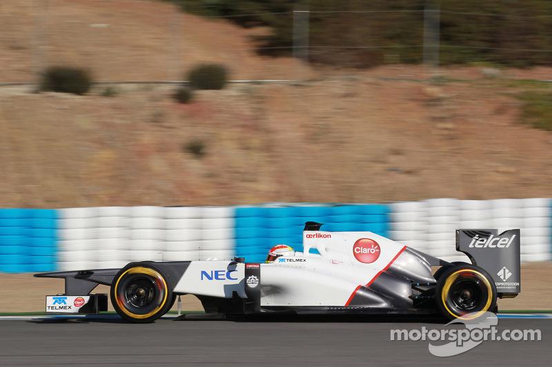 Sauber Jerez test day 3 report