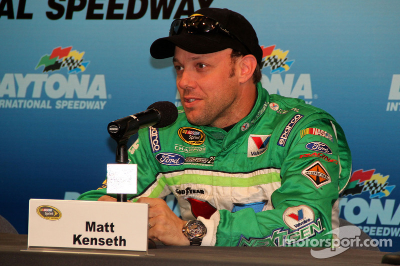Daytona 500 media day visit: Kenseth and Ambrose