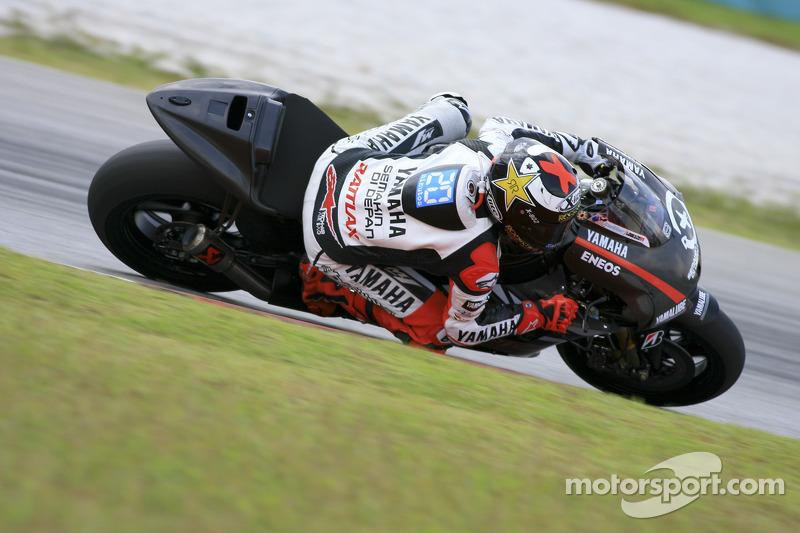 Yamaha Sepang test II day 2 report