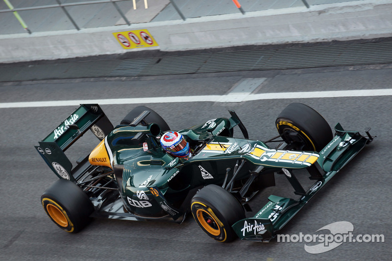 Caterham Barcelona test II -  Day 1 report