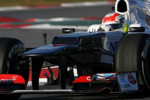 Perez tops time sheets for Sauber on third day of Barcelona testing