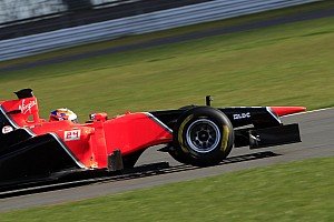 Marussia F1 Team's MR01 passes final crash test