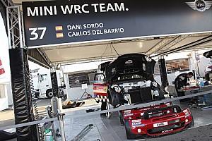 WRC Prodrive boosts performance of MINI WRC