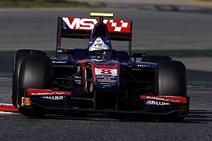 Jolyon Palmer Barcelona test summary