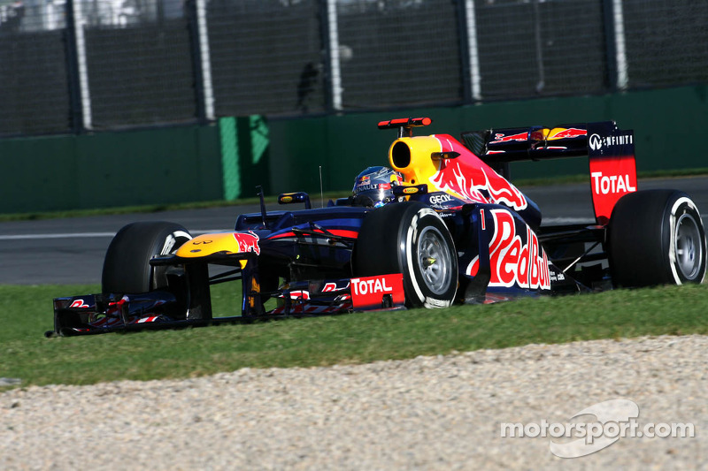 Red Bull Australian GP - Melbourne qualifying report