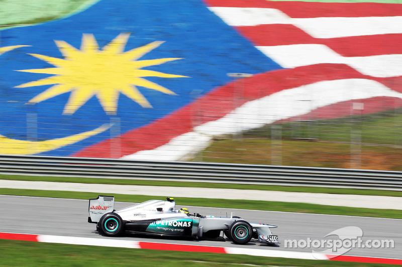 Mercedes Malaysian GP - Sepang Friday report