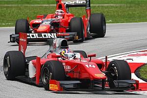 GP2 Scuderia Coloni Sepang race 1 report