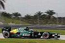 Caterham Malaysian GP - Sepang Friday report