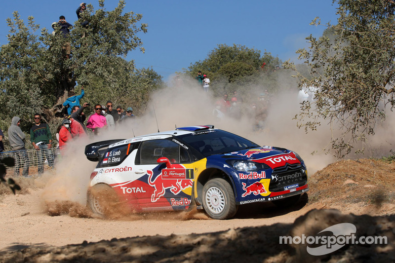 Loeb and Elena roll out of Rally Portugal on stage 3