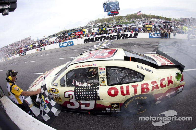 Ryan Newman was Mr. Opportunity at Martinsville