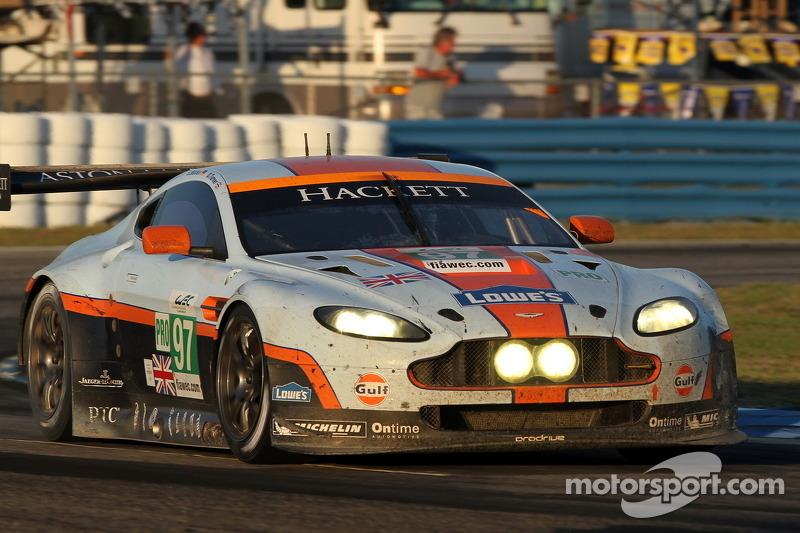 Aston Martin Racing ready for 2 hour race at Long Beach