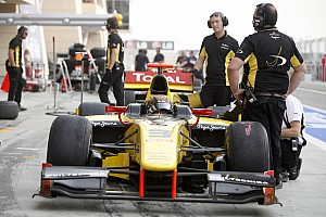GP2 Davide Valsecchi leads the way
