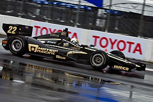 IndyCar Lotus DDR ready for race in Sao Paulo