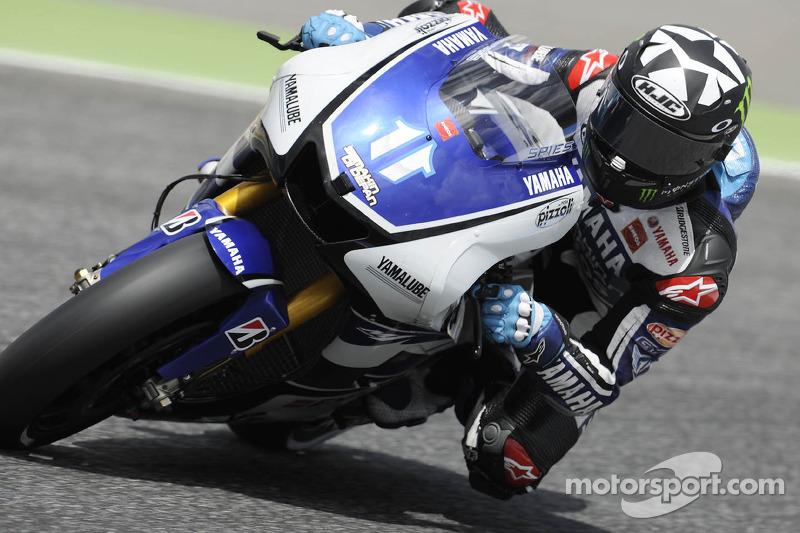 Yamaha Factory Team Portuguese GP qualifying report