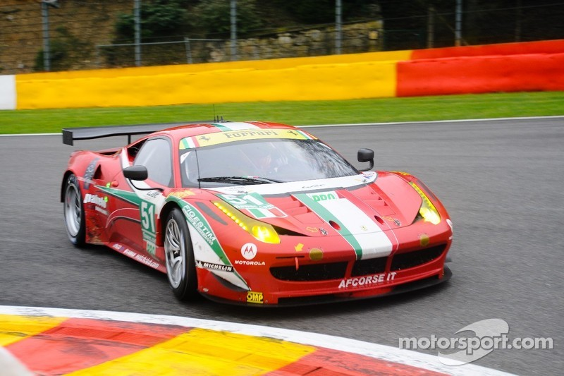 Ferrari 6 Hours of Spa race report
