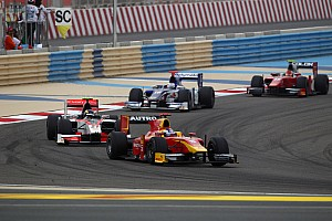 GP2 Racing Engineering Bahrain race 1 report