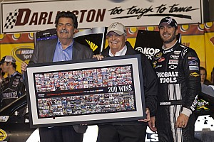 NASCAR Sprint Cup Reflections on Rick Hendrick's 200th win