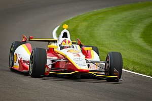 Team Penske Indy 500 practice day 1 report