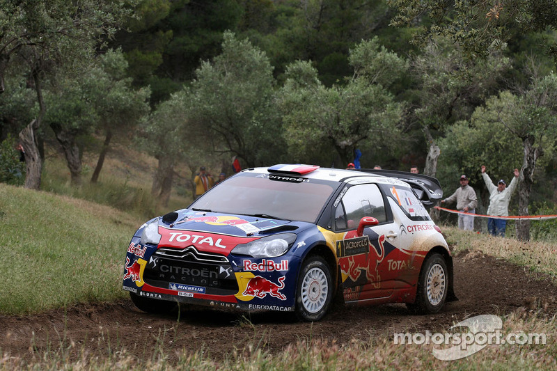 Citroën drivers start strong in Acropolis Rally